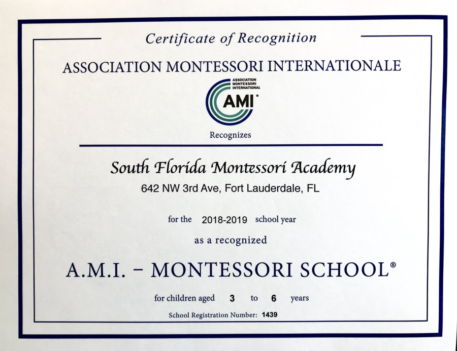 South Florida Montessori Academy Our Difference